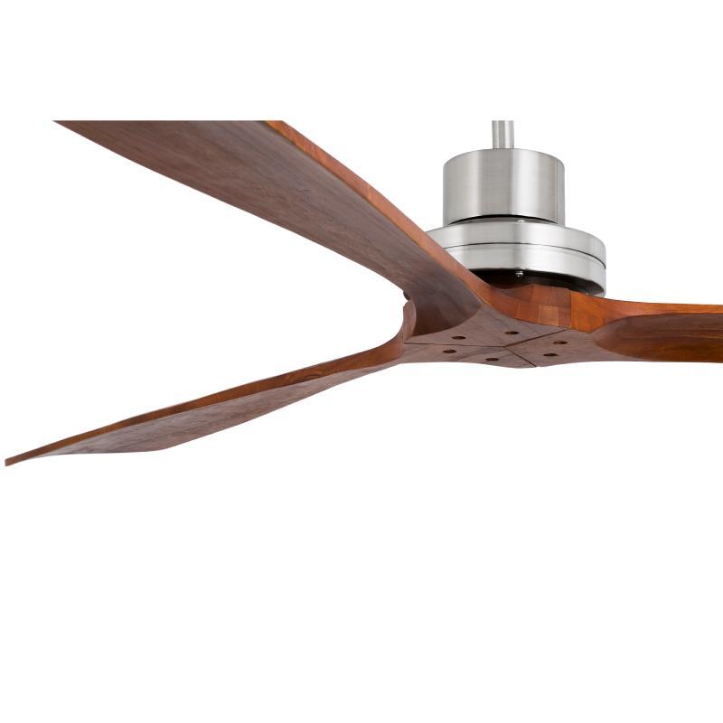 Faro lantau ventilador lantau g nogal sin luz 33464 - Ventiladores de techo de madera ...