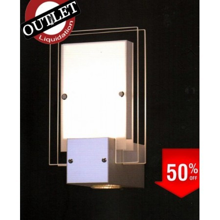 APLIQUE CROMO WENGUE SERIE DUAL OUTLET