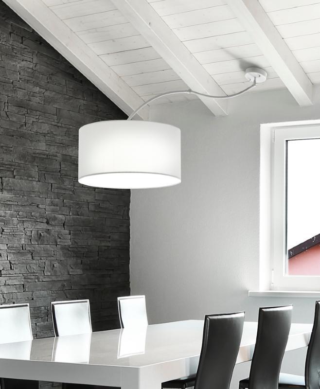 Brilliance colgante de techo articulado cisne sunaca - Lamparas para techos inclinados ...