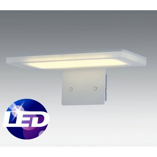 Santelices aplique pared led moderno serie pure - Apliques pared modernos ...