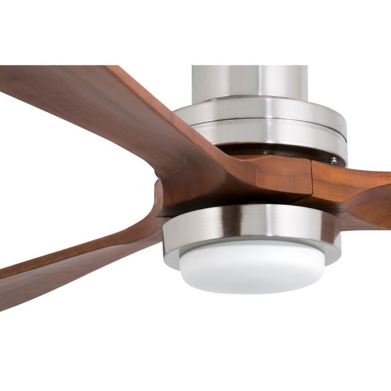 Faro lantau ventilador lantau g nogal con luz led 33463 - Luz de techo ...