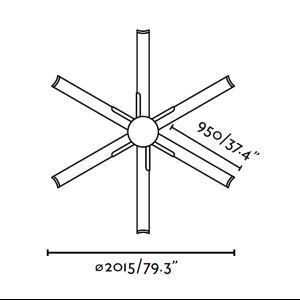 Faro ventilador de techo andros motor dc ventiladores - Motores de ventiladores de techo ...