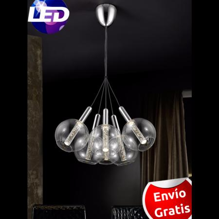 Lampara 6 luces LED. Serie Eire Schuller