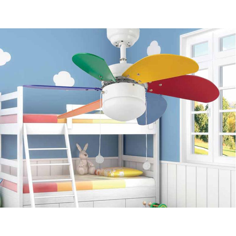 Ventilador palao faro ventiladores de techo infantiles - Ventiladores techo infantiles ...