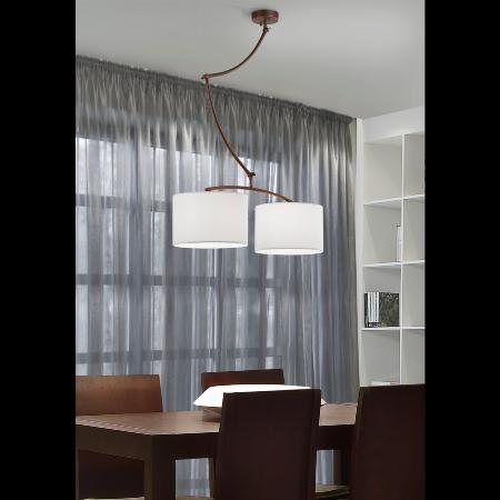Brilliance lampara cisne pantalla tela brilliance - Lamparas schuller catalogo ...