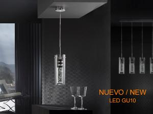 Colgante Bubble Schuller - Tulipa doble luz LED