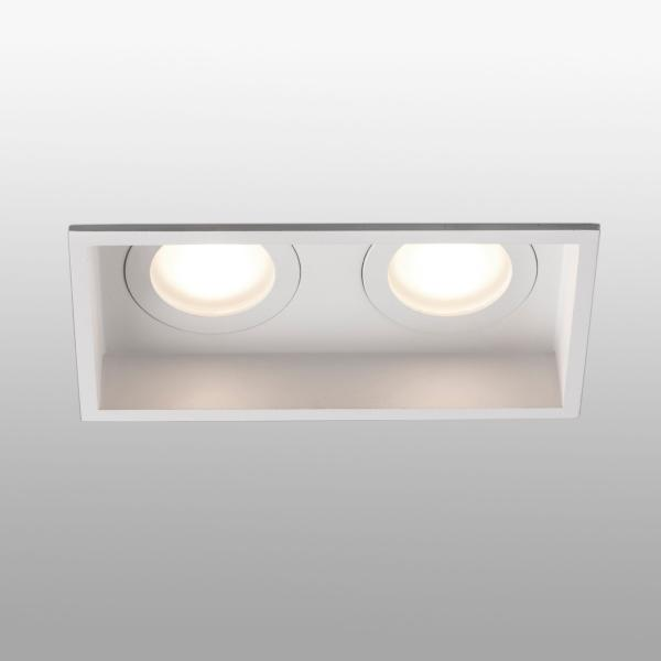Empotrable Hyde Faro Blanco 2 luces 171x89mm