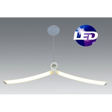 Lampara de techo PURE LED. SANTELICES