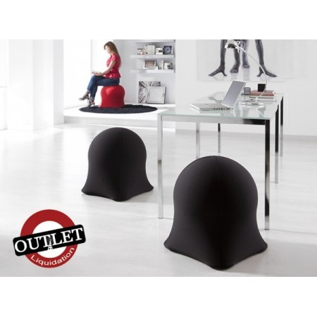 PUFF SILLON HINCHABLE NEGRO.