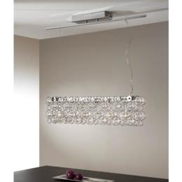 Lampara Luppo Schuller - Lineal abalorios cristal - LED