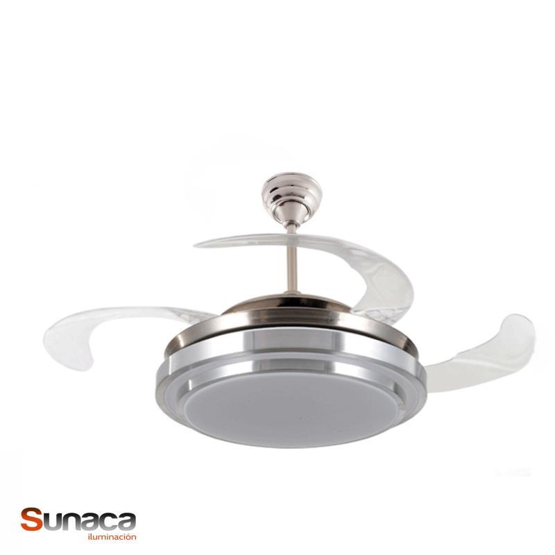 Fabrilamp ventilador de techo selene led ventiladores for Aspas para ventiladores