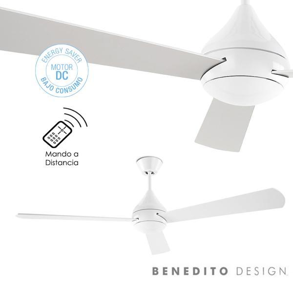 Leds c4 ventilador de techo tupai dc ventiladores sunaca - Ventilador bajo consumo ...