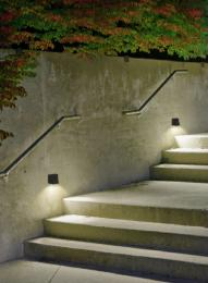 Aplique exterior Loyd Forlight - Gris luz LED