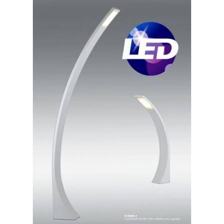 Lampara de pie arco LED serie PURE.   SANTELICES
