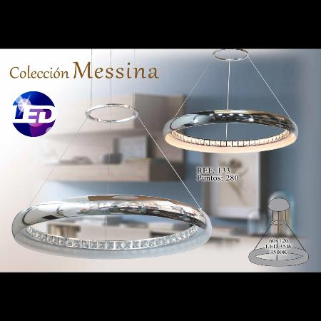 Lámpara de techo LED Messina.    Marinisa