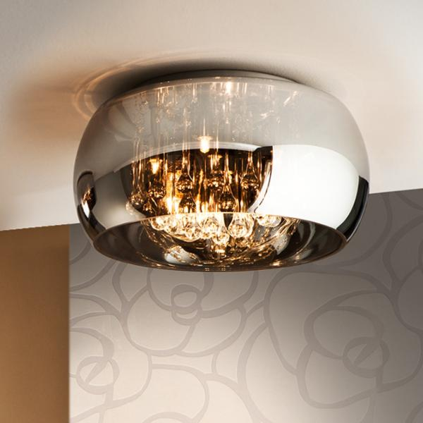 Led Light Fittings Argos: Schuller Argos- Lampara Plafon 40cm Tulipa Espejo Led