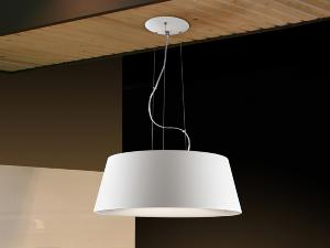 Lampara Zone Schuller - Colgante blanco - LED