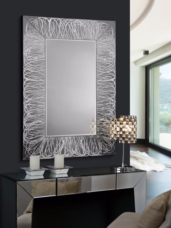 Espejo rizos schuller espejo marco rizos schuller for Espejo marco cristal