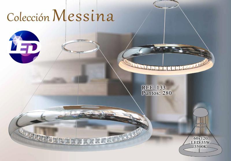 Lámpara colgante LED Messina Marinisa