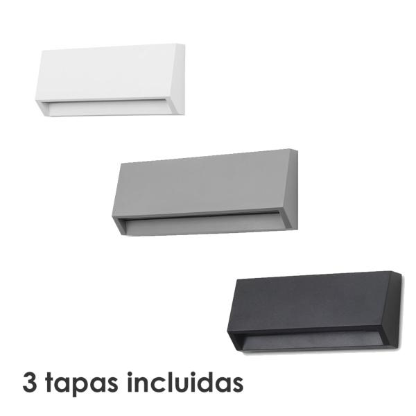 Aplique exterior Grove Forlight - 3 Tamañoz  - LED