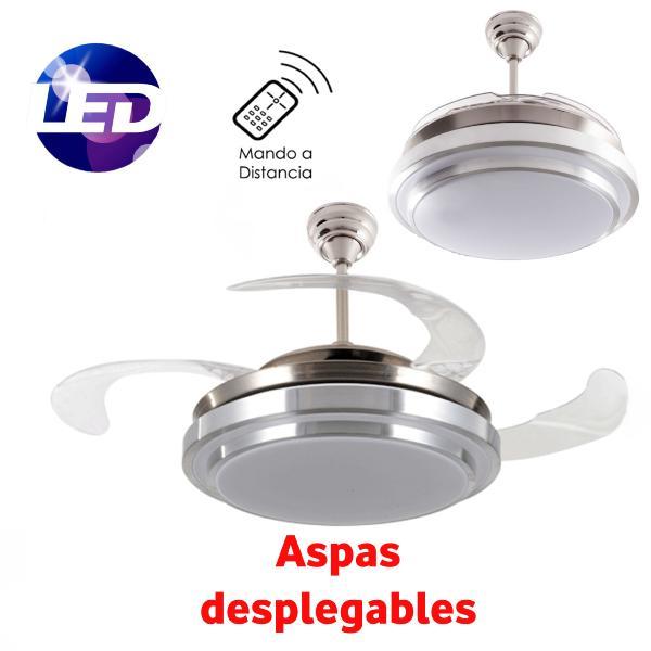Fabrilamp ventilador de techo selene led ventiladores - Motores de ventiladores de techo ...