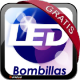 lampara Diamond Schuller. LED gratis