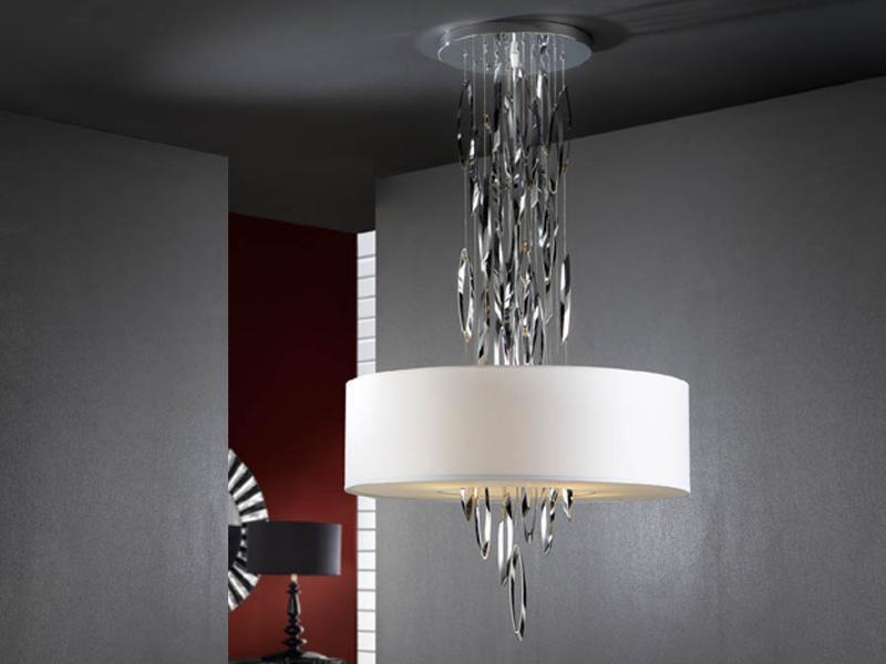 Schuller Lampara LED pantalla Domo blanca Colgante dChtsxQr