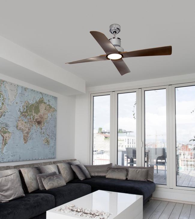 Ventilador winche faro cromo ventiladores dc sin luz faro - Ventilador bajo consumo ...