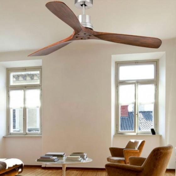 Ventilador de techo lantau faro 132 cm s per silencioso - Ventilador techo silencioso ...