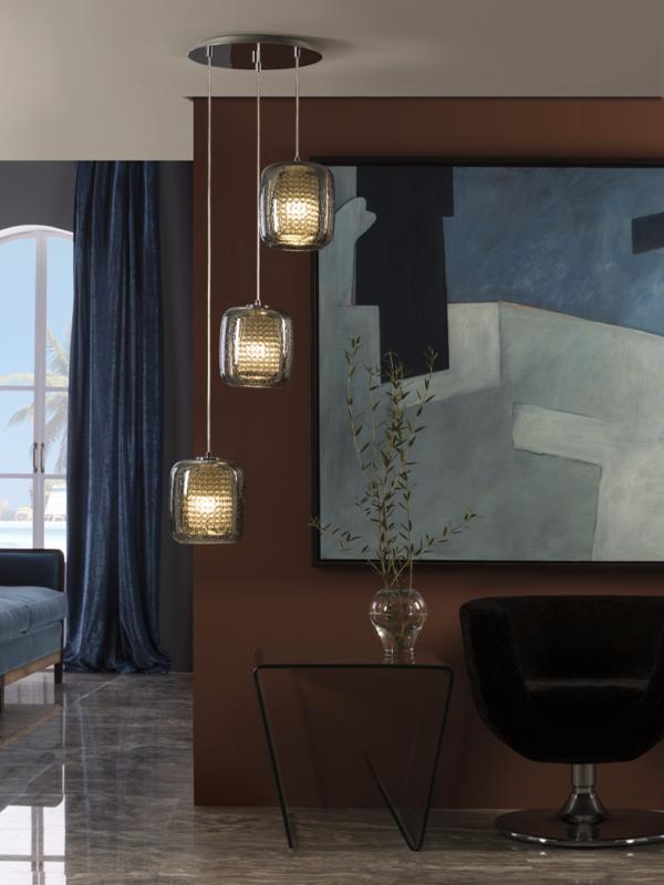 Colgante aqua schuller lampara 3 luces moderna schuller - Lamparas schuller catalogo ...
