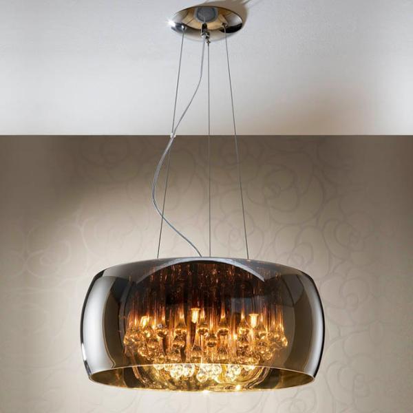 Schuller argos lampara tulipa espejo luz led 508111 - Lamparas schuller ...