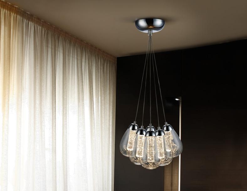 L mpara taccia schuller 6 colgantes luz led 38cm - Lamparas schuller ...