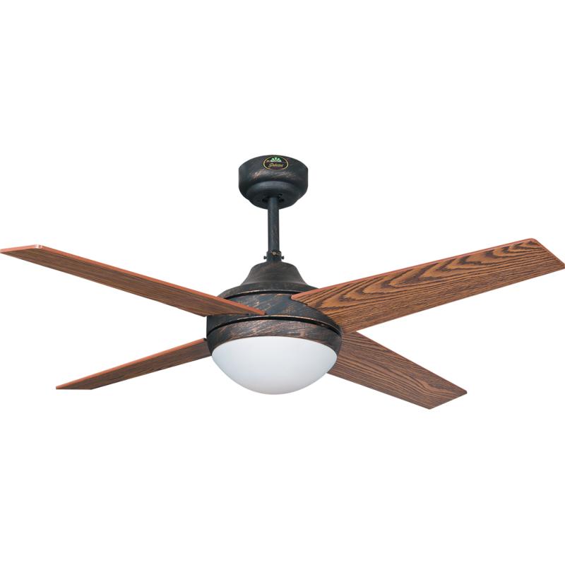 Fabrilamp ventilador de techo eolo marron - Precio de ventiladores de techo ...