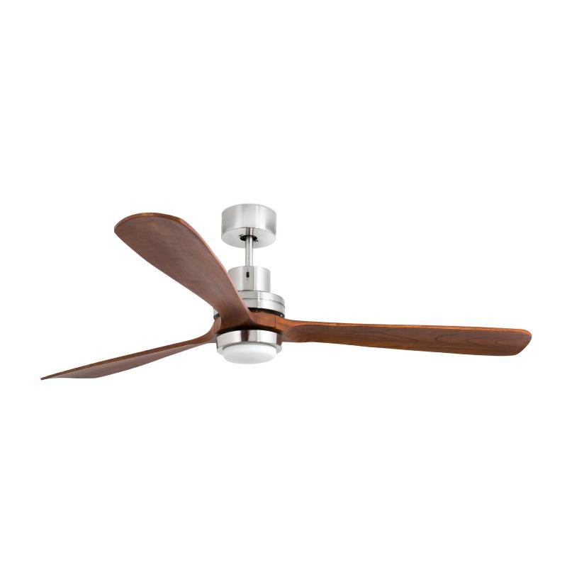 Faro lantau ventilador lantau g nogal con luz led 33463 - Ventilador techo silencioso ...